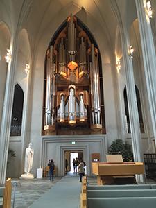 Orgel i Hallgrimkyrkan
