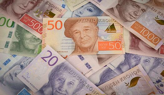 Växla in och gör plats för nya sedlar
