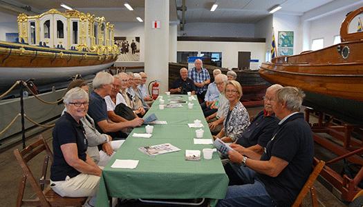 Väsbyveteraner på veteranbåtsmuseum!