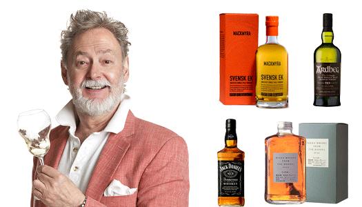 Prova whisky med vännerna