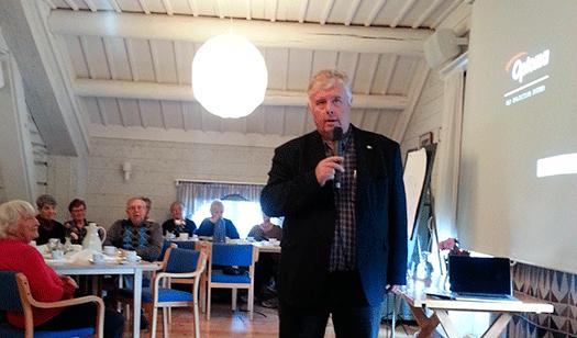 Yngve Gustafssons intressanta föreläsning