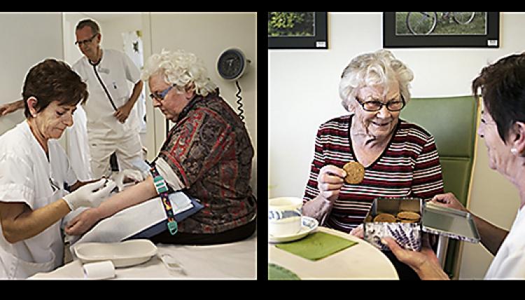 Här har vårdcentralen tid för äldre