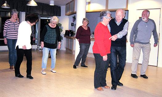 SPF  Borens verksamhet har utökats med en Linedance grupp.