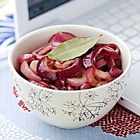Rödlöksmarmelad med kryddpeppar