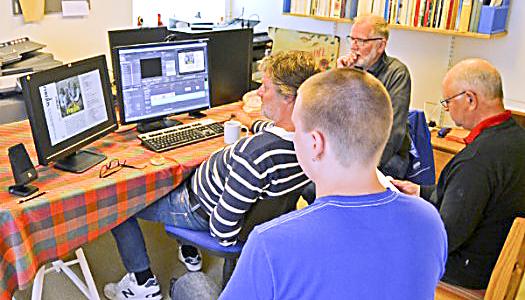 Visning av Siljansnäs Sockenfilm