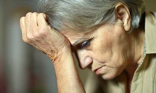 Psykisk ohälsa dödar äldre