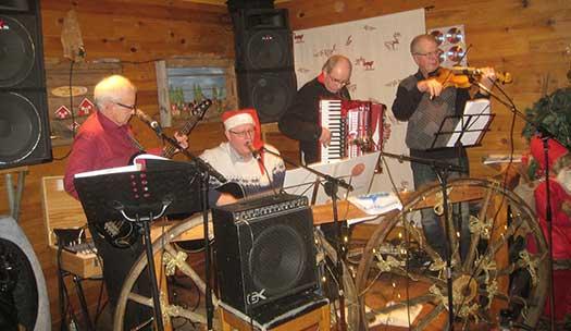 Julstämning hos Bjurholm