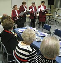 Sjungande farmödrar och palt hos Kiruna