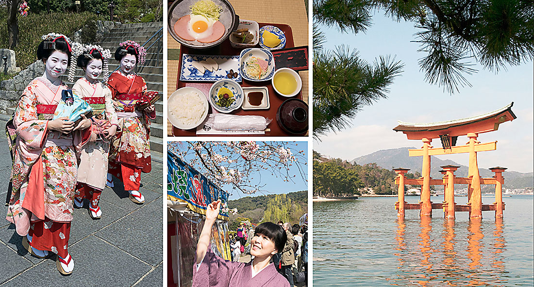 Res till Japan, ett land för alla sinnen