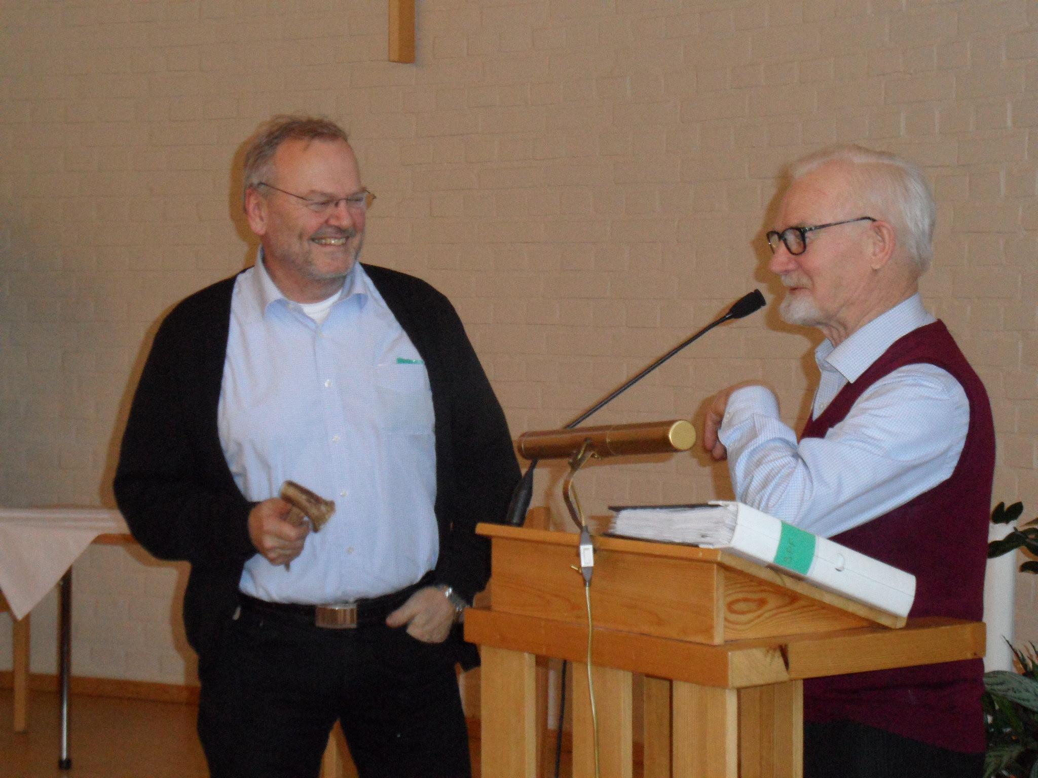 Årsmöte hos SPF Seniorerna Pärlan Vindeln
