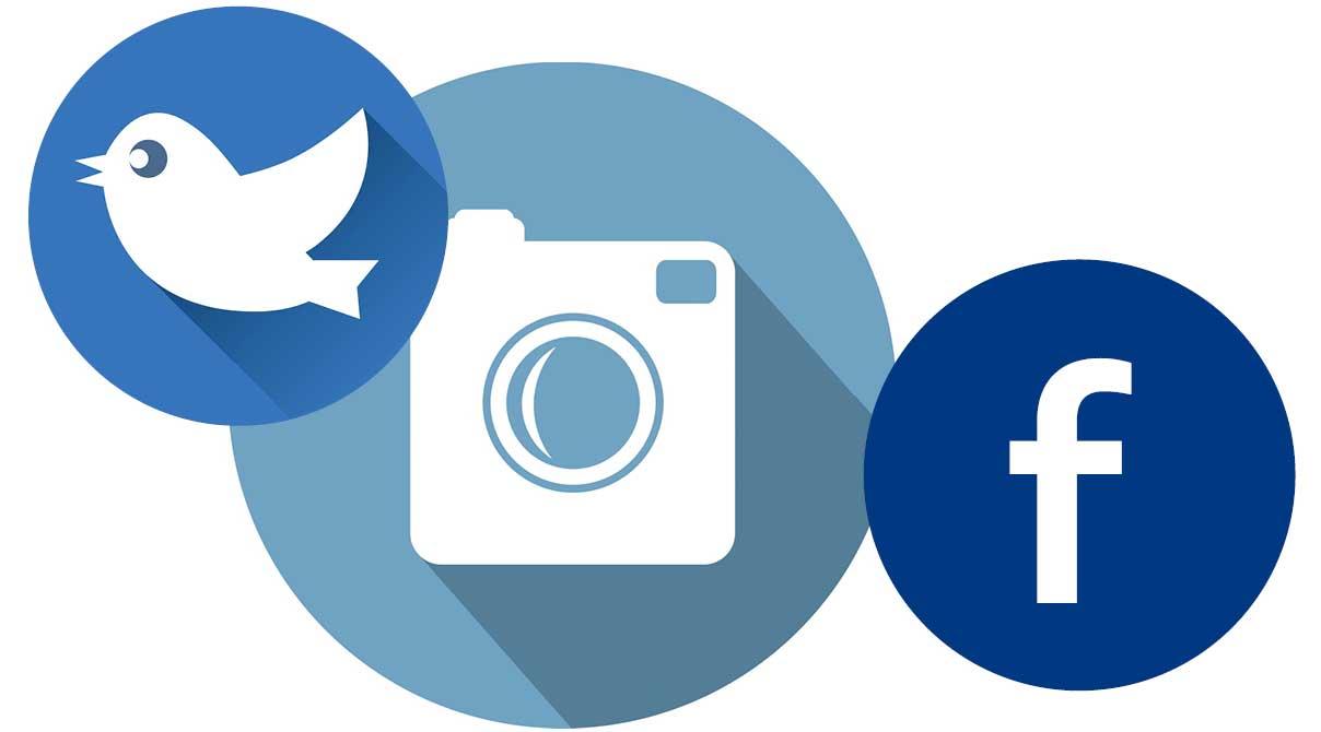 Följ oss i Sociala medier