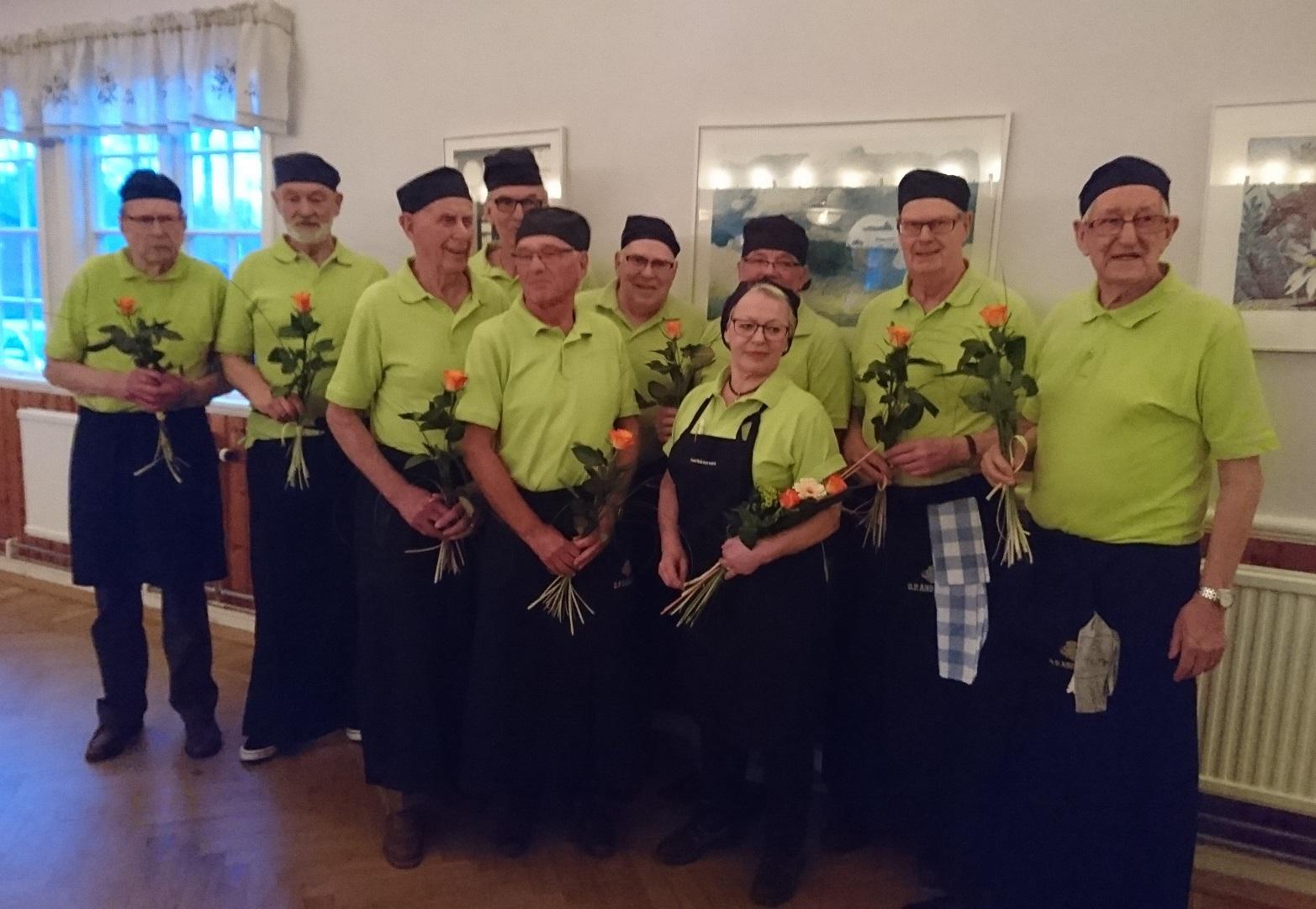 SPF Seniorerna Snöstorp har haft vårfest