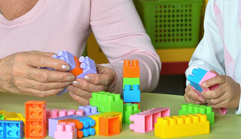 Generationer möts på förskolan