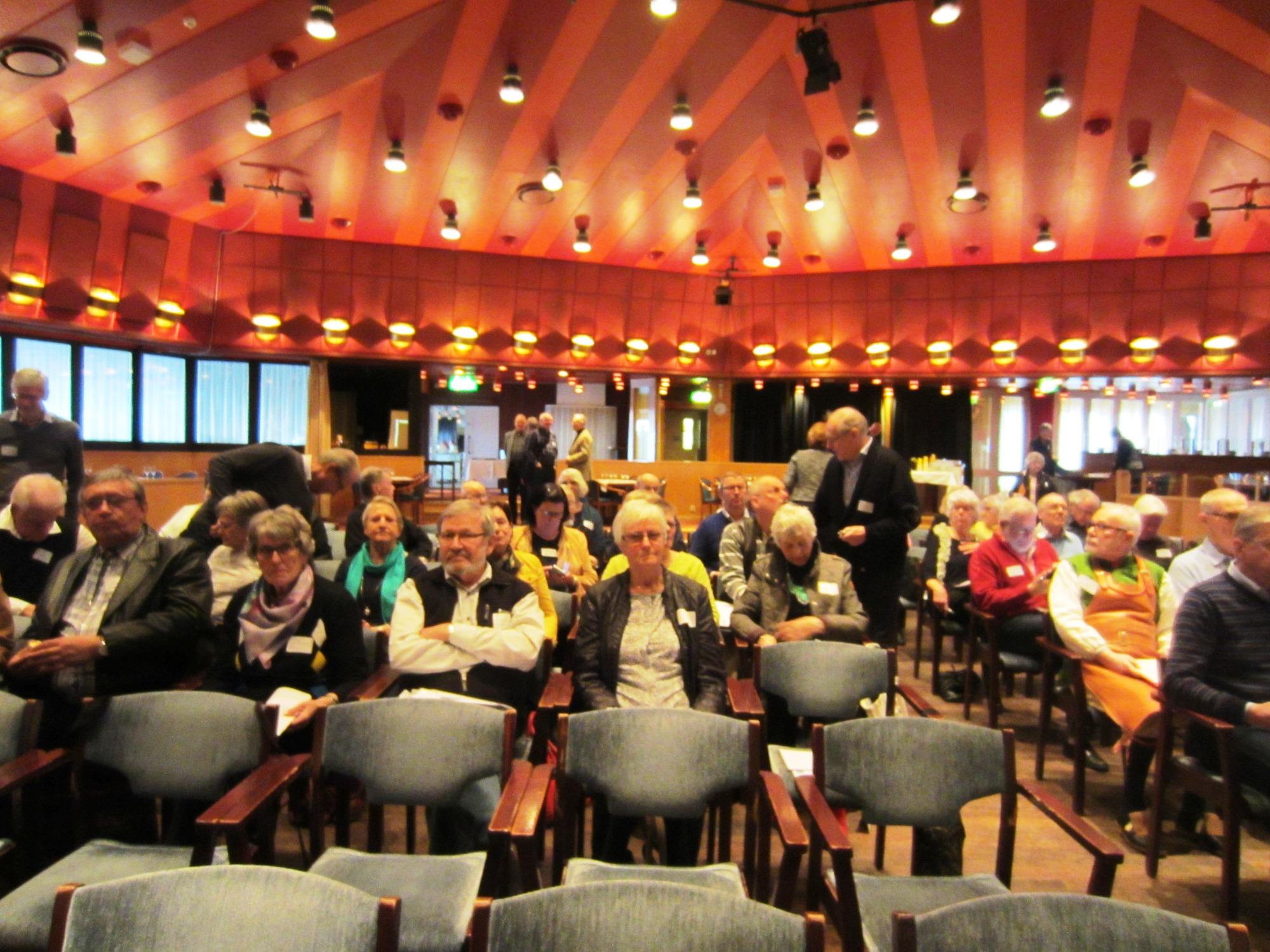 SPF-Seniorerna höll Distriktsstämma på Moraparken