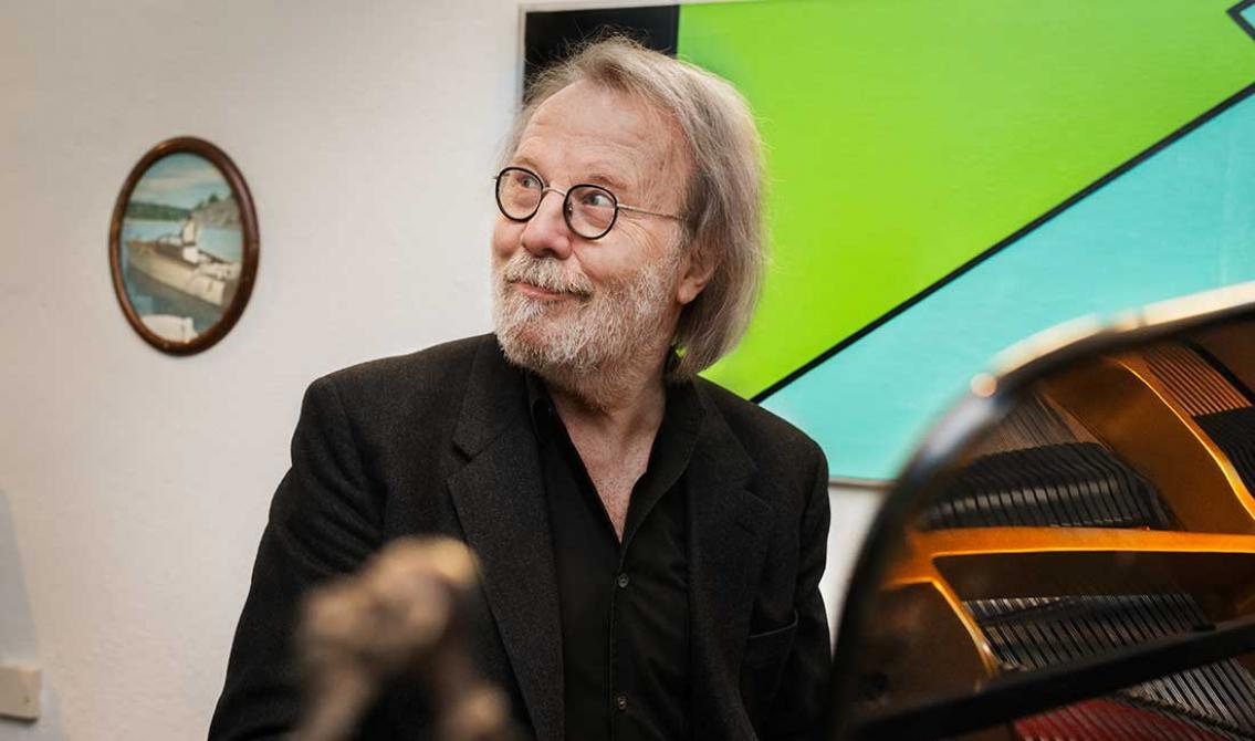 Musik är lust för Benny Andersson