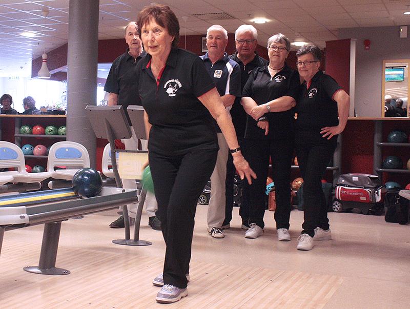 Distriktsmästerskap i bowling spelades i Kvänum