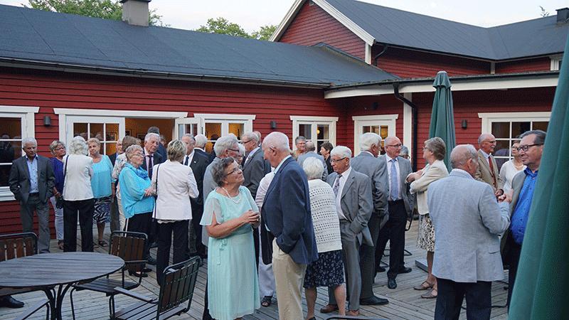 SPF Club 230 i Staffanstorp har haft sin jubileumsfest i Boklunden