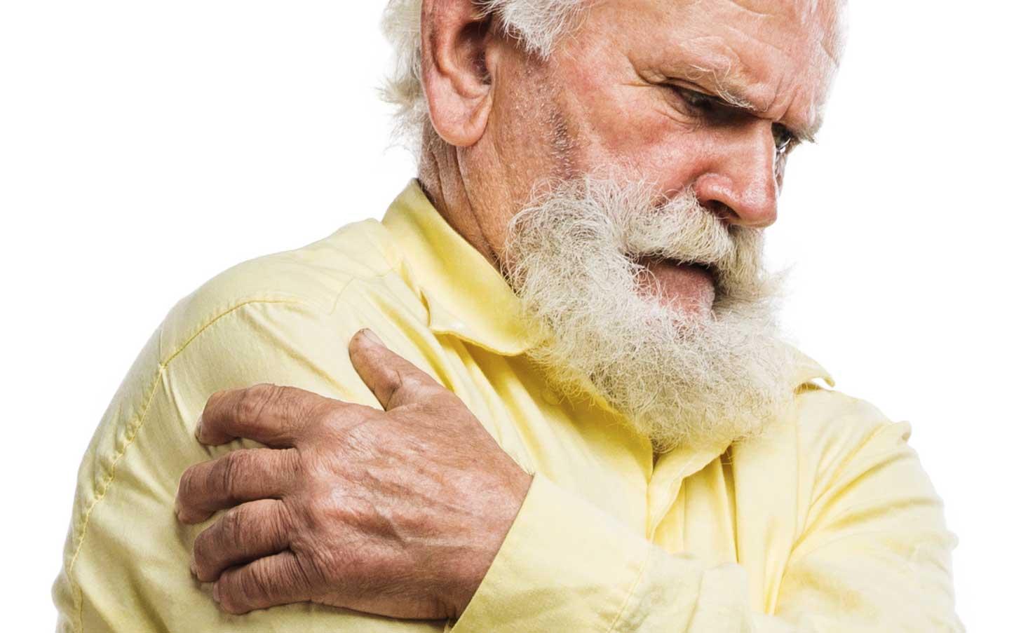 Seniorer får för lite smärtlindring