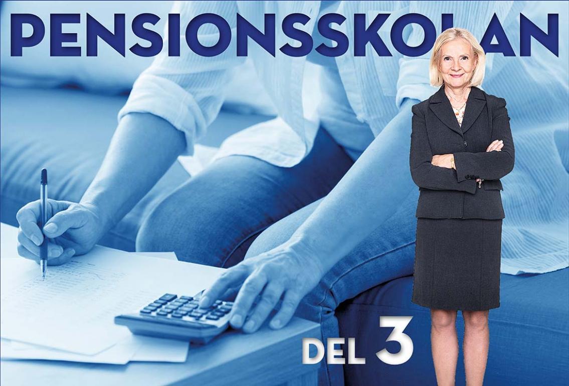 Pensionsskolan del 3: Planera och påverka ekonomin