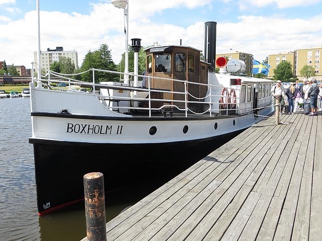 SPF Tranåsseniorerna på båttur med S/S Boxholm II