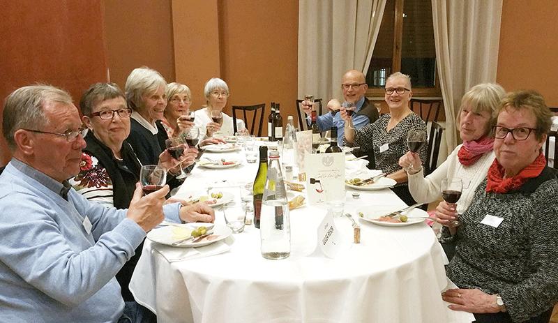 Gällivares resa till Toscana