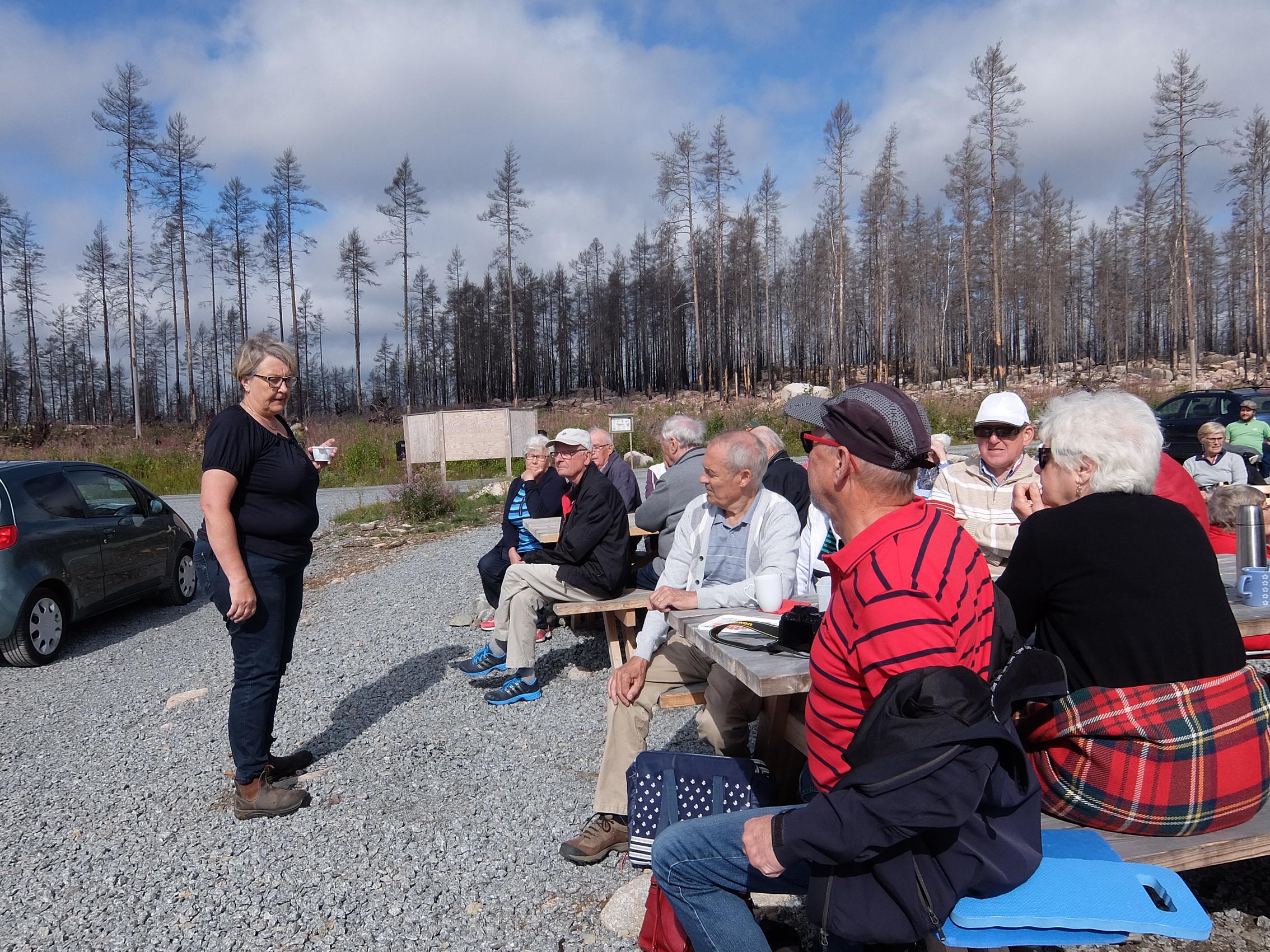 Herrevad besökte Hälleskogsbrännan