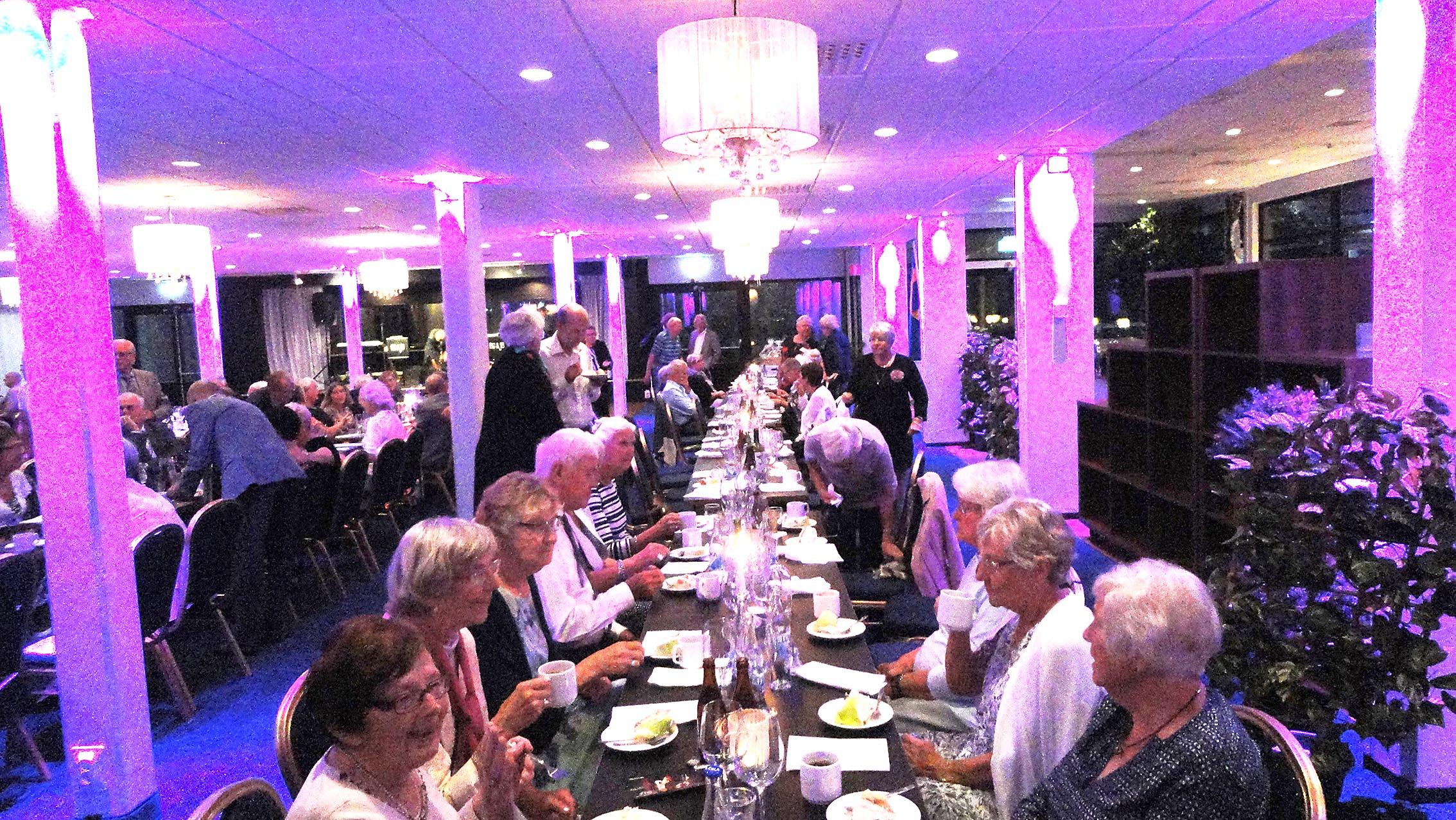 Seniorerna i Ronneby firade 70