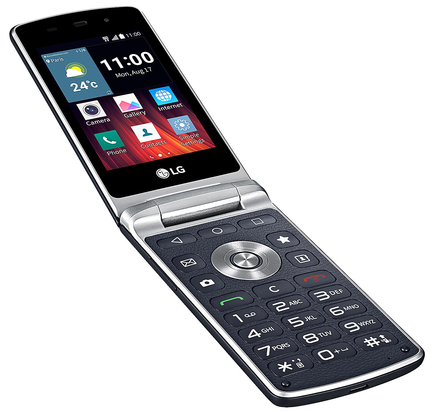 enkel telefon för gamla