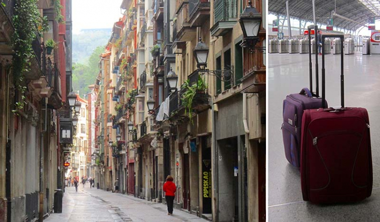 Tågluffa i Frankrike och Spanien