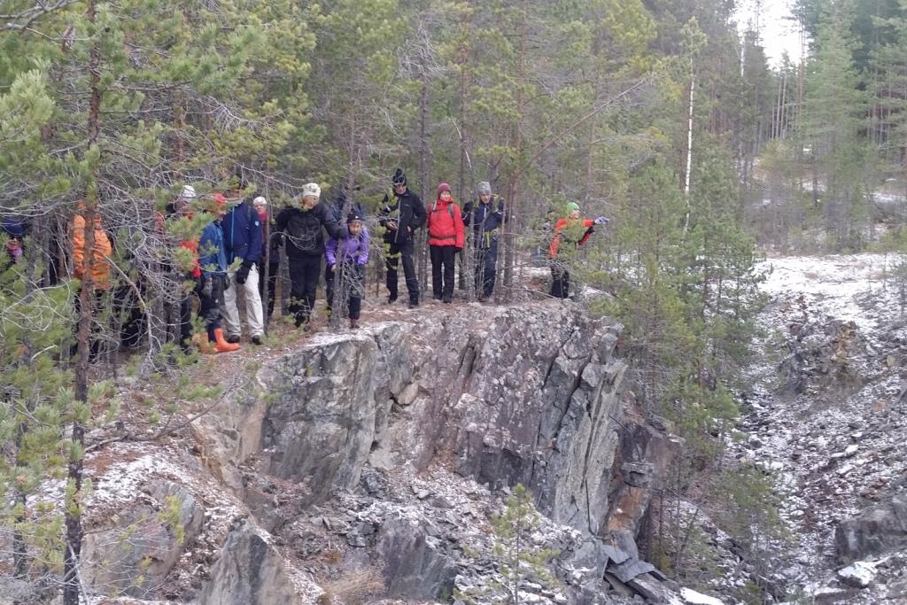 Långvandring till Svärdsjögruvan