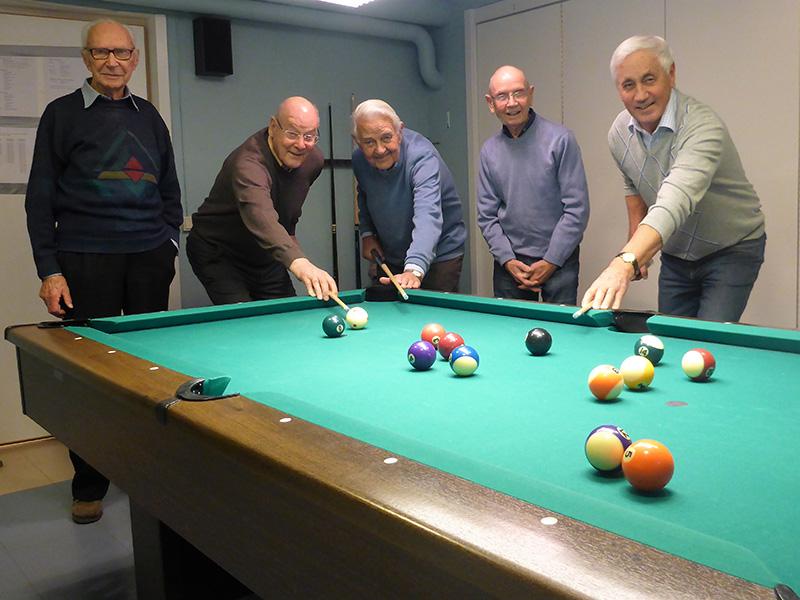 SPF Seniorerna Skövdes biljardgrupp