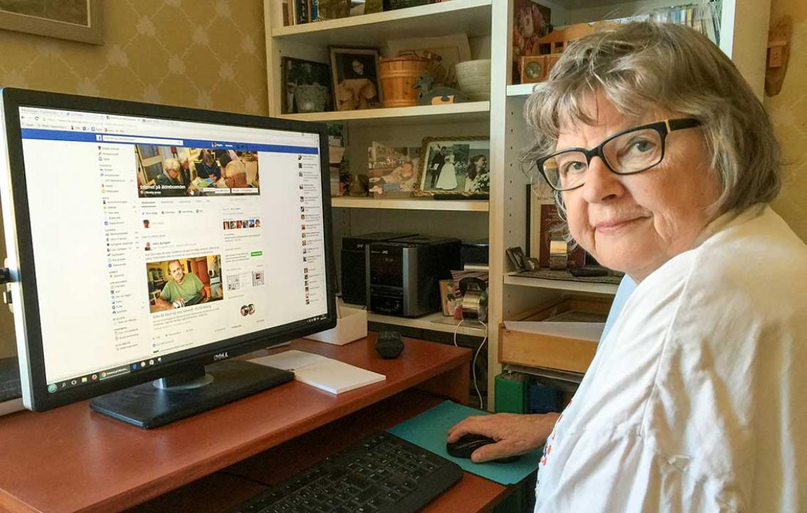 Sociala medier räddade Birgitta