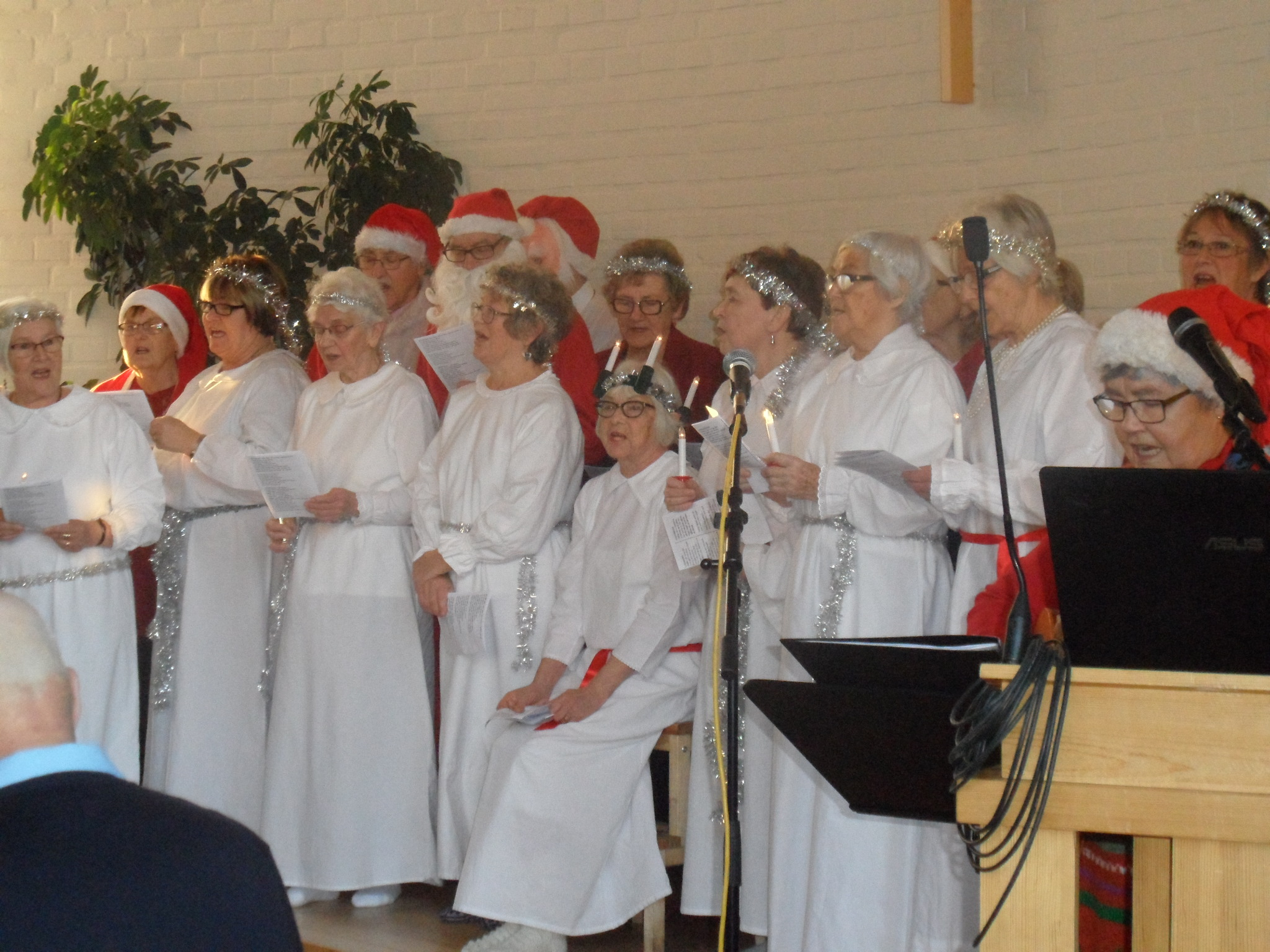 Julfest hos Pärlan i Vindeln