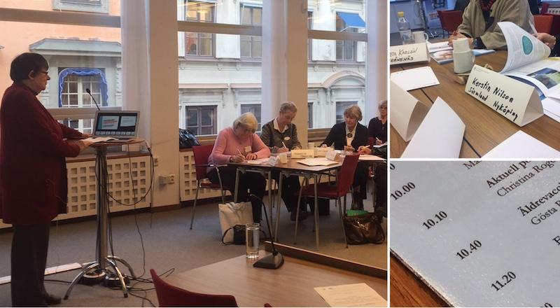 Pensionärsråd laddade inför valet