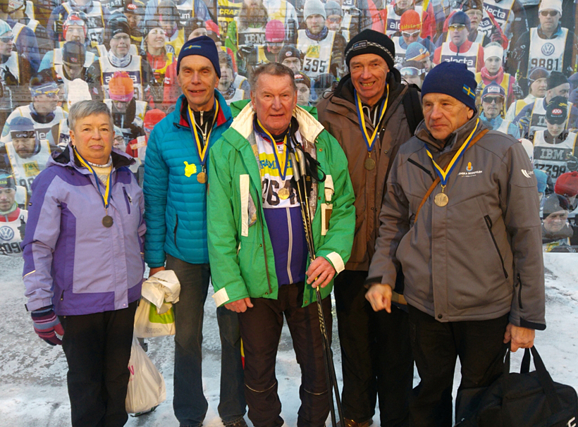Rekordtid för SPF Seniorerna Falun i StafettVasan
