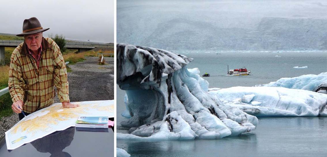 Söker äventyret på Island