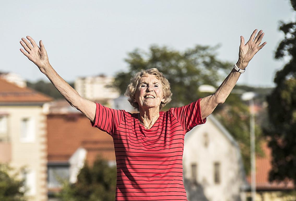 Glädjen i att åldras