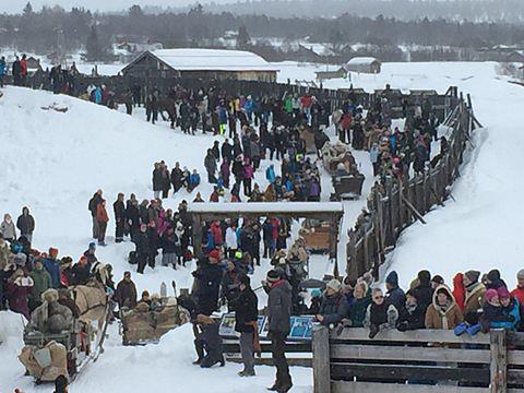 Faluns resa till Röros vintermarknad 2017