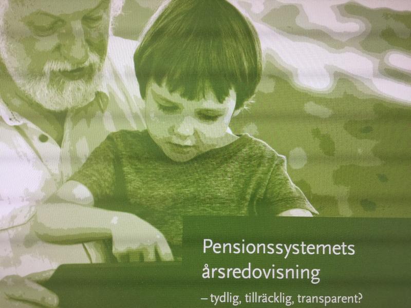 """""""Bättre information om framtida pension"""""""