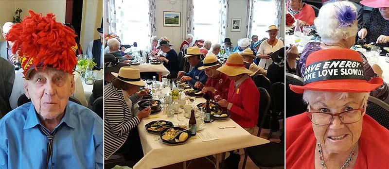 Hattparad på SPF Strömmens vårfest