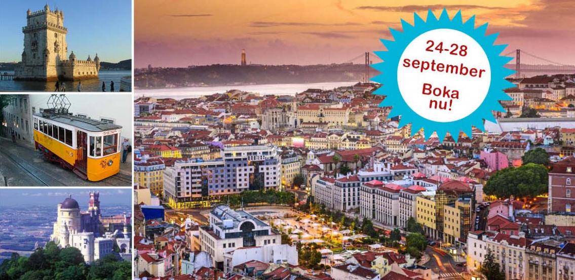 Lissabon –  Kontrasternas stad