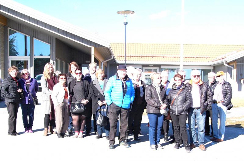 SPF seniorerna Edabygden besöker Skotterud och dess seniorboende
