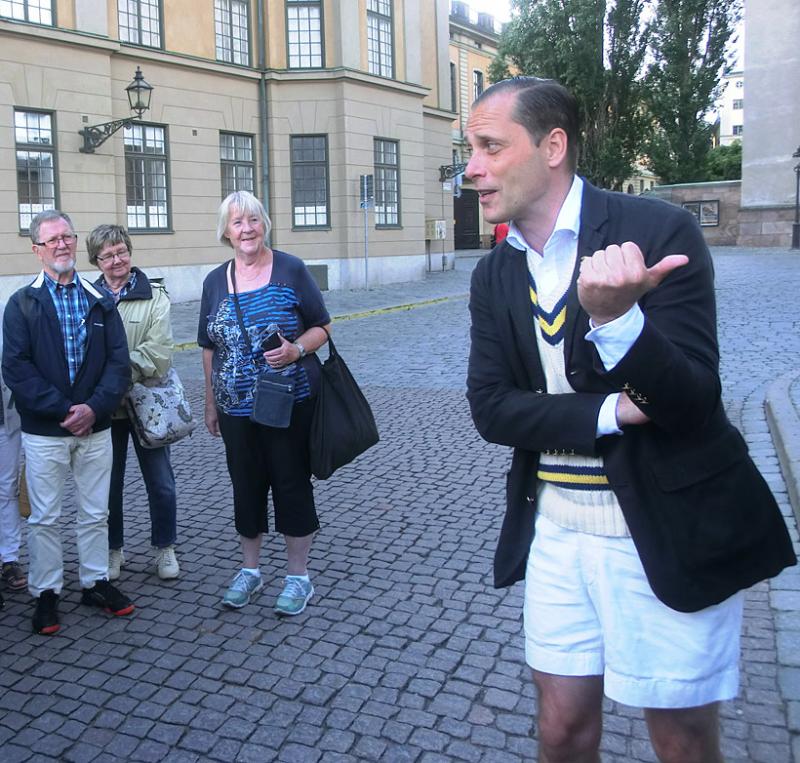 En dag i 1700-talets Stockholm