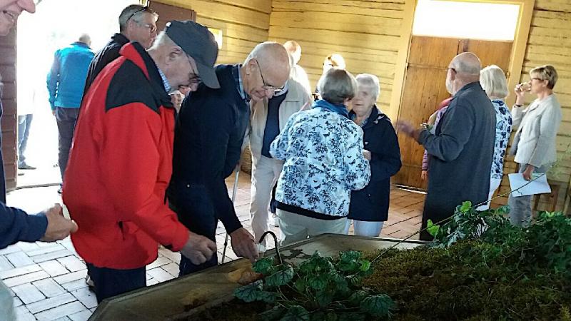 """SPF Seniorerna Husby åkte på """"Hemlig resa"""" i musikens tecken."""