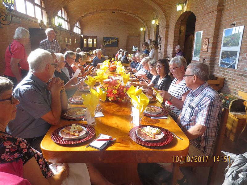SPF Seniorernas resa till Italien