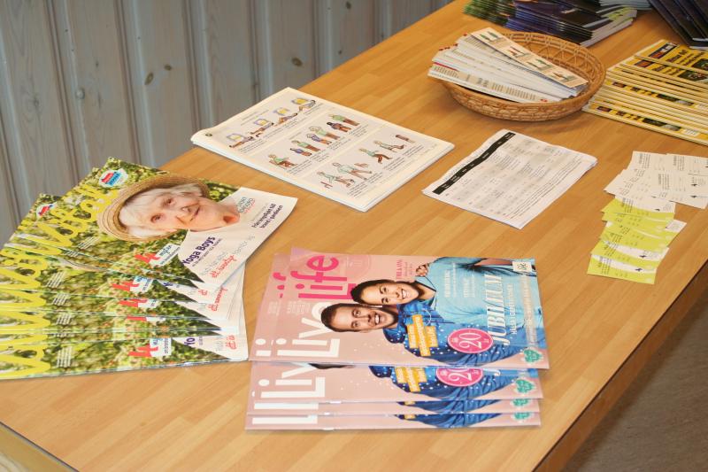 Hälsan i Fokus vid SPF möte i Leksand