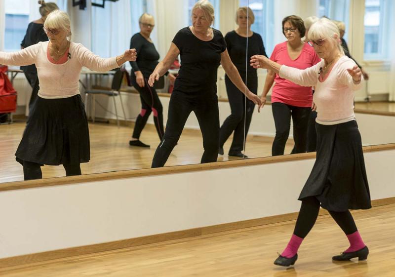 Dansa seniorbalett