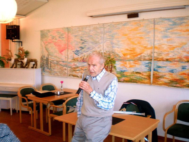 Fascinerade berättelser om krigssjukhuset i Älvsbyn