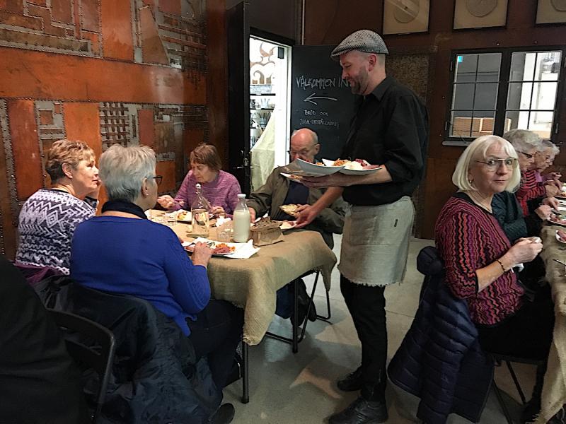 SPF Seniorerna Husby hade kul på Kulinariet