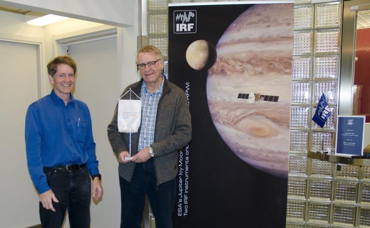 SPF Seniorerna Kiruna besökte Institutet för rymd fysik